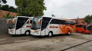 Sewa Bus Jakarta Wonogiri